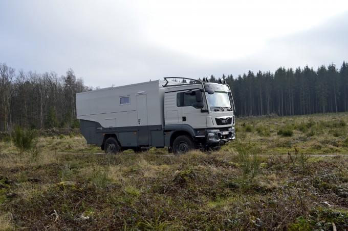 demo truck MAN toutes terrain