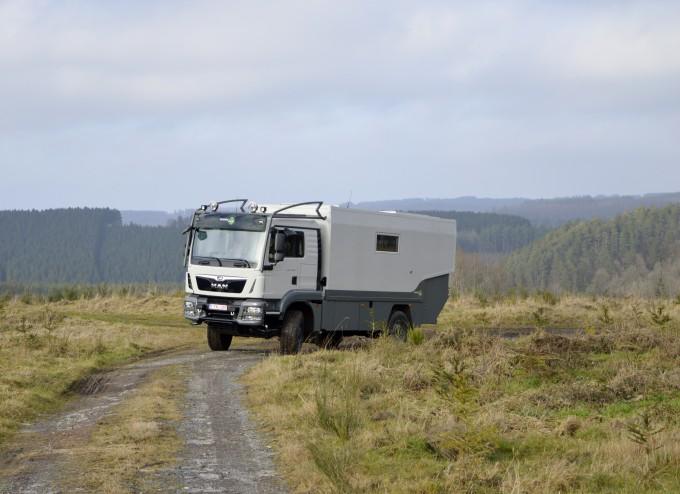 demo truck MAN 4x4