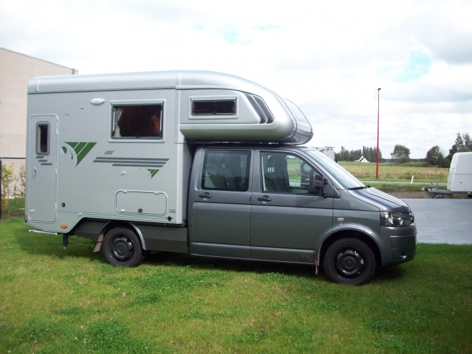 VW transporter met Trail 270