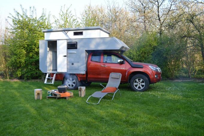 RAC 230 PopUP camping