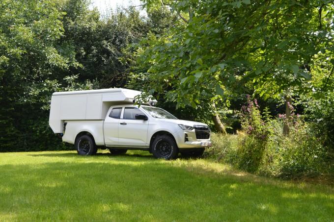 Pick up camper - Reisunit op Isuzu