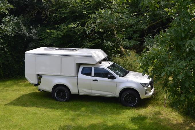 pickup camper - Reisunit op nieuwe isuzu dmax