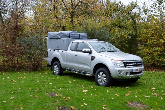 Ford ranger avecTent Unit
