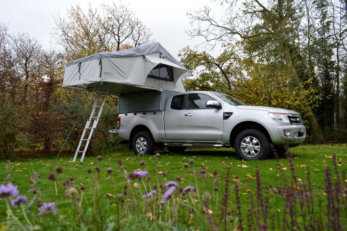 Ford ranger met Tent Unit
