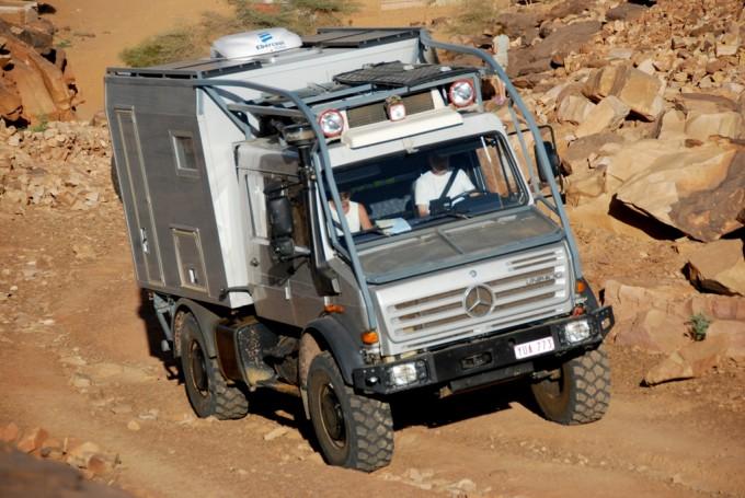Mercedes Unimog U4000
