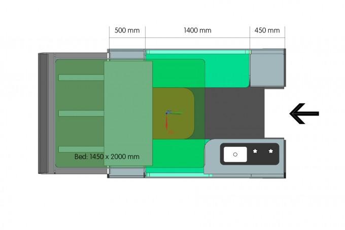 grondplan AAU