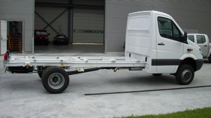 Mercedes Sprinter véhicule de base