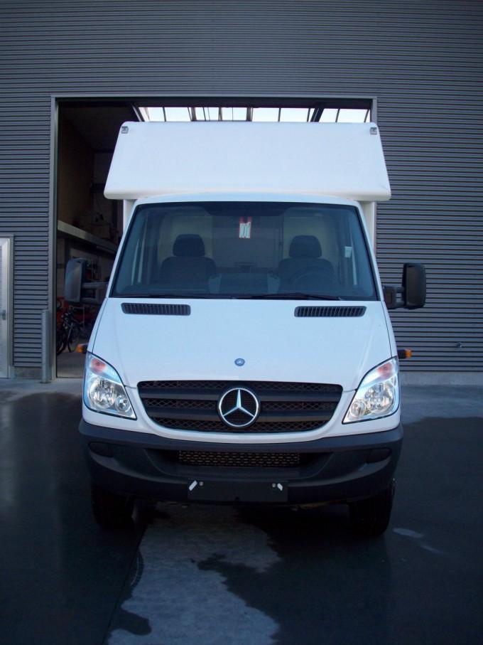 Mercedes Sprinter extérieur