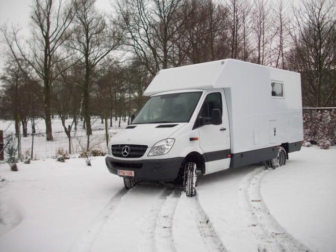 Mercedes  Sprinter exterieur