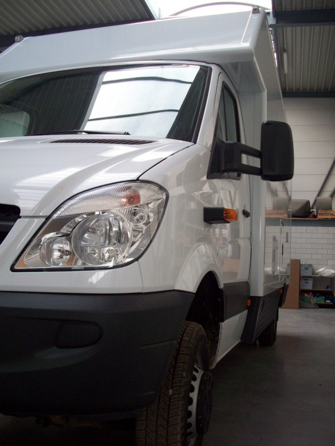 Mercedes Sprinter work in progress