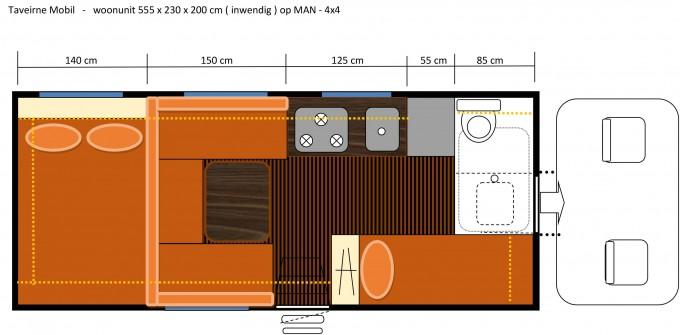 MAN 18.480 FAE grondplan